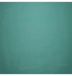 Green chalkboard background vector image
