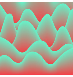 abstract background waves gradient hallucination vector image