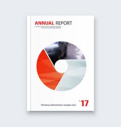 abstract flyer design background brochure vector image