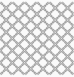 Abstract seamless pattern crosses or plus signs vector