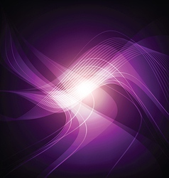 Abstract violet light background vector