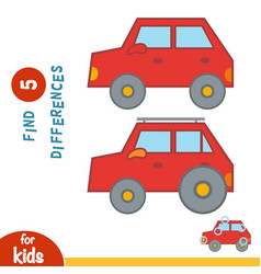 Find differences car vector