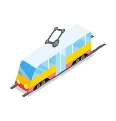 Public Tram Icon vector image