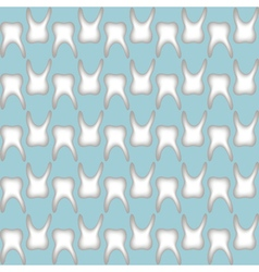 Teeth pattern seamless vector