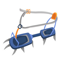 hook climbing icon flat style vector image