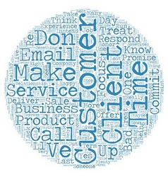 Stellar Customer Service in 10 Simple Steps text vector image