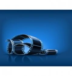 video film vector image vector image