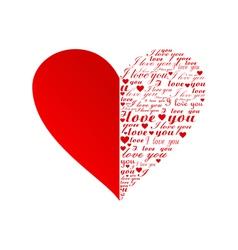 Heart2 vector image vector image