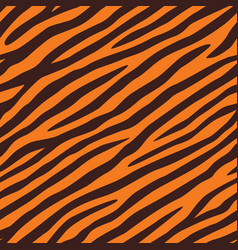 background texture tiger skin seamless pattern vector image