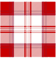 Clan menzies tartan plaid seamless pattern vector