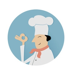 Cook chief symbol vector