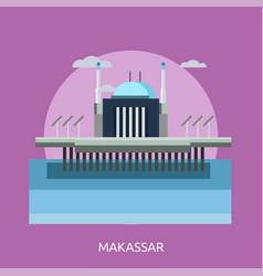 Makassar conceptual design vector