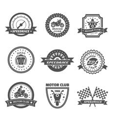 Rider Label Set vector