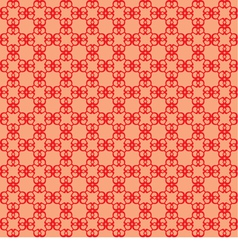 seamless abstract red background vector image