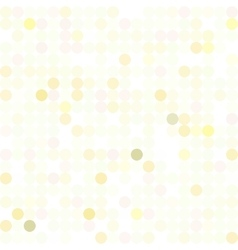 Sequins dotted iridescent pattern vector
