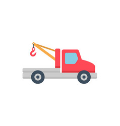 tow truck icon vector image