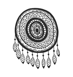 Tribal dream catcher vector image