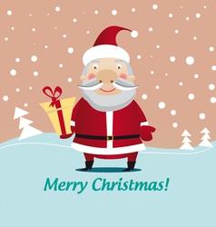 christmas santa clause vector image vector image