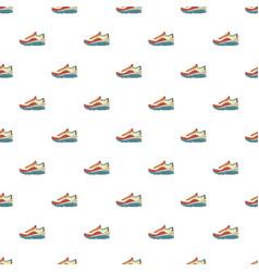 Sneakers pattern seamless vector
