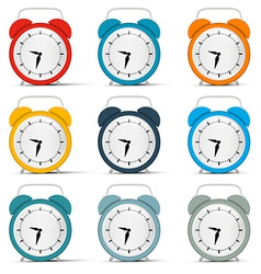 Alarm Clock Set vector image