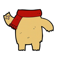 comic cartoon teddy bear body mix and match or add vector image