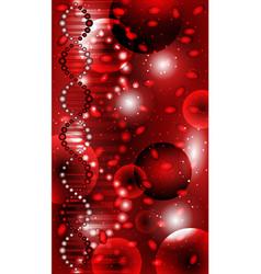 Deoxyribonucleic acid dna blood wallpaper vector