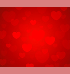greeting valentine card happy valentine day vector image