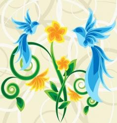 magic garden vector image