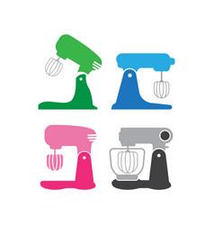 Mixer icon design template isolated vector
