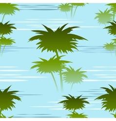 morning jungles seamless pattern vector image
