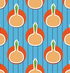 onion pattern Seamless texture vector image