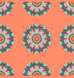 oriental pattern vintage decorative elements vector image