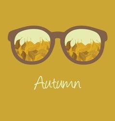hello autumn1 resize vector image