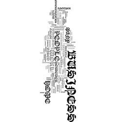 work it text word cloud concept vector image vector image