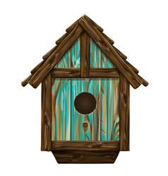 bird house wall sticker vector image