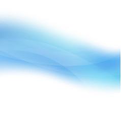 blue pastel line vector image
