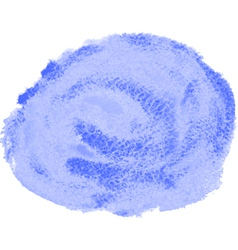 blue watercolor spot vector image