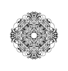 Ceiling rose vector