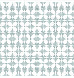 Geometric gray ikat seamless pattern background vector