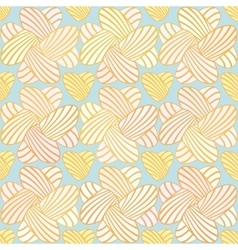 Heart stripes seamless background pattern vector
