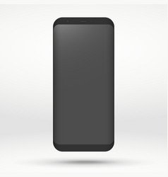 mobile template vector image
