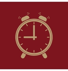 The Alarm clock icon vector