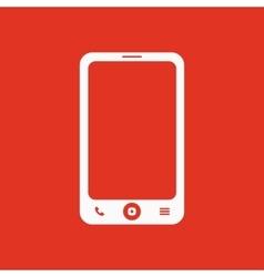 The smartphone icon Phone symbol vector image