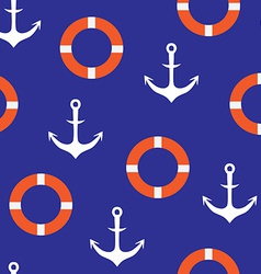 Anchor seamless pattern vector