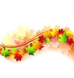 Autumn theme vector