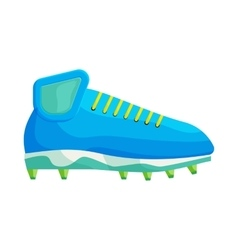 Football or soccer shoe icon cartoon style vector image