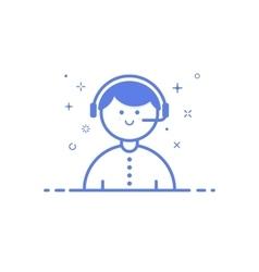 icon shopping concept vector image vector image