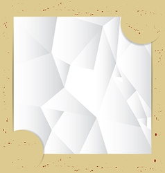 Paper Fold Background vector