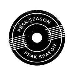 Peak Season rubber stamp vector