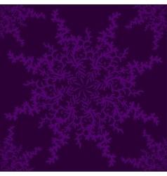 Retro stylish winter background hand-drawn vector image